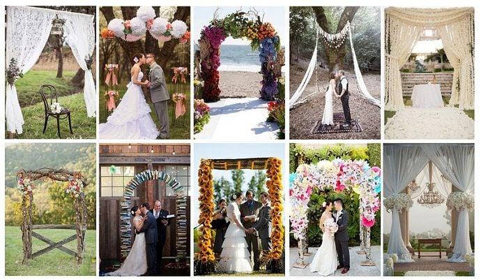 Свадебные арки. Лучшие декораторские решения