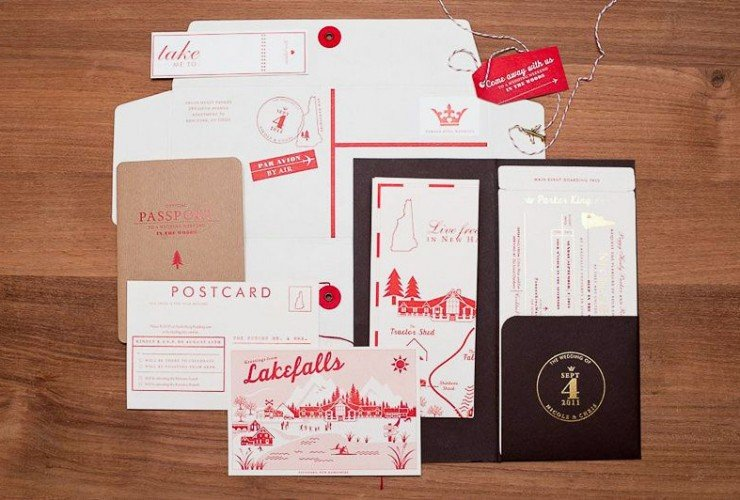 Red-White-Travel-Inspired-Wedding-Invitations-7