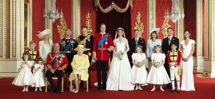 Королевские свадьбы!